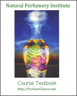 Textbook cover for the Natural Perfumery Institute basic course