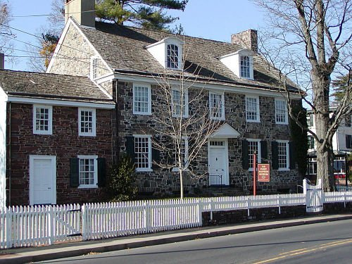 Parry Mansion, the oldest home in New Hope, and a landmark on Main Street.
