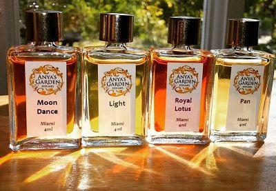 Anya's Garden Perfume Moon Dance, Pan, Light, Royal Lotus