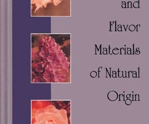 Perfume and Flavor Materials of Natural Origin now under $20!