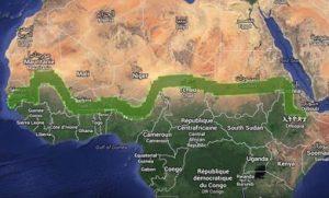 green walk of Africa