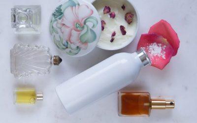 Making perfume: 100% natural perfume products