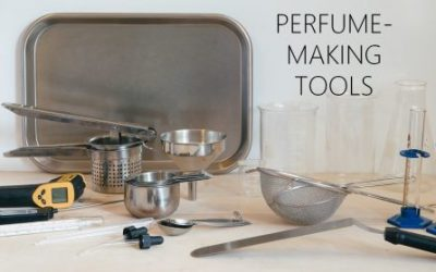 Helpful tools for perfumemaking
